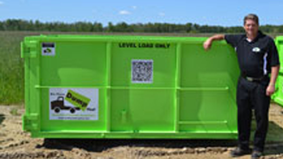 9 Yard Dumpster